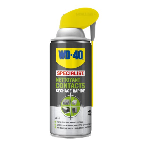 WD-40 - spécialist nettoyant contact - aérosol de 400 ml