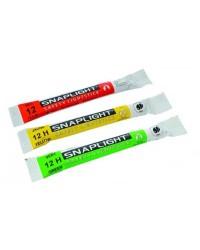 Baton lumineux Snaplight - vert - rouge - jaune - Blister de 3