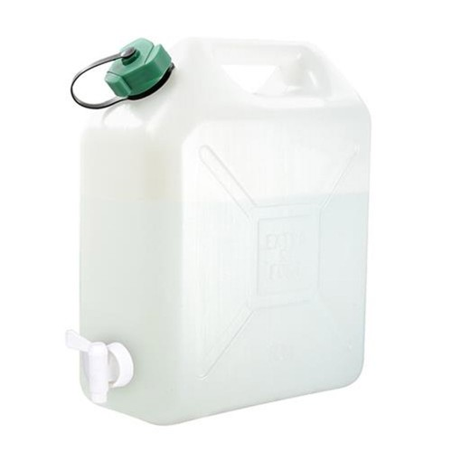 Jerrican alimentaire avec robinet - 20 litres