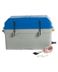 Bac à batterie étanche - 100 A - 360 x 185 x 220 mm