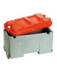 Bac à batterie grande capacité 1 batterie - 120 à 200 A - 300 x 600 x 320 mm