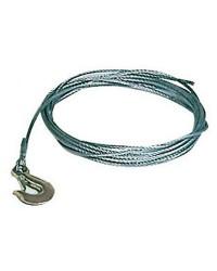 Câble de treuil - Ø 5 mm x 4.5 M